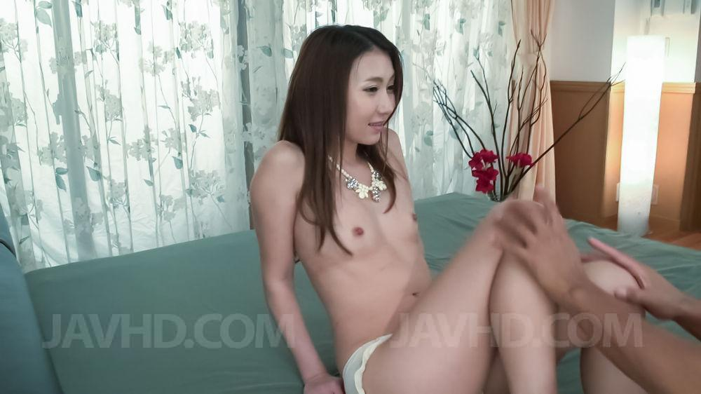 18747: 18747. Maya Kato Asian has cumshot on cunt after is nailed by sucked boner